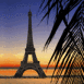 Paris plage au cr�puscule