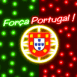 Força Portugal! néon