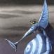 Dragon obèse de profil