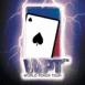 """Carte de pique """"WPT"""" dans un éclair"""