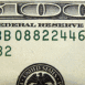 Zoom d'un dollar américain