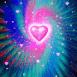 Coeur dans le ciel �toil�
