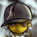 Graffeur portant une casquette large