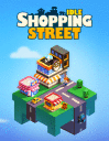 Idle shopping street