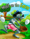 Wolf on the farm