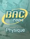 Bac: Physique