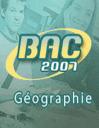 Bac: Géographie