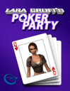 Lara Croft Party Poker