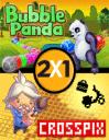 2 jeux en 1: Génie du puzzle+Bubble panda