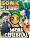 2 jeux en 1: Sonic jump+Génie cérébral