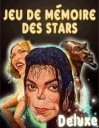 Jeu de mémoire des stars deluxe