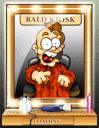 Bald Kiosk