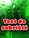 Test de sobriété