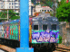 MTV Barrio 19: Graffitis sauvages sur un train